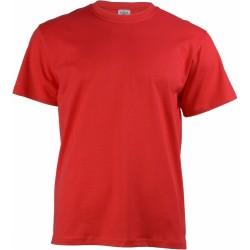 Keya MC180 kereknyakú póló, piros M