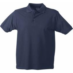 J&N Classic galléros póló, szürke M