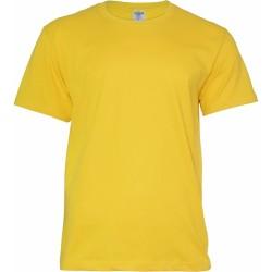 Keya MC180 kereknyakú póló, sárga L