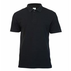 Keya MPS180 galléros póló, fekete M