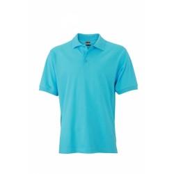 J&N Classic galléros póló, kék XXL