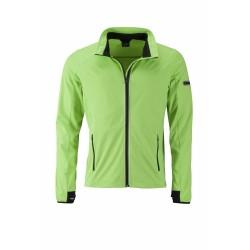 J&N Sports Softshell dzseki, zöld XXL