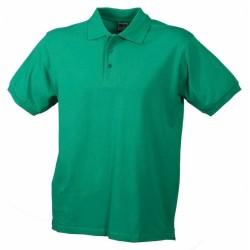 J&N Classic galléros póló, zöld S