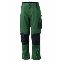 J&N Workwear derekas nadrág, zöld 106