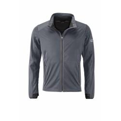 J&N Sports Softshell dzseki, fekete XL