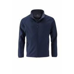 J&N Promo softshell dzseki, fekete 3XL