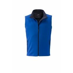 J&N Promo softshell mellény, kék S