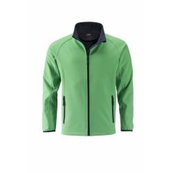 J&N Promo softshell dzseki, zöld XXL