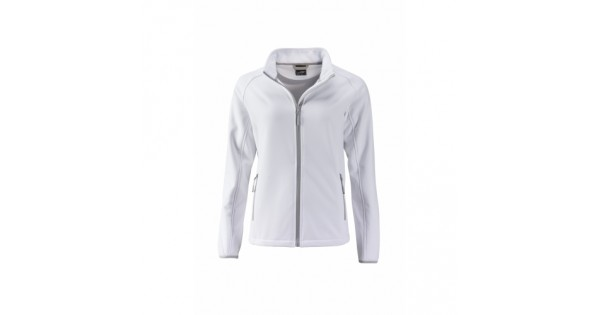 J&N Promo női softshell dzseki, fehér L