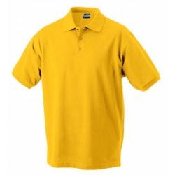 J&N Classic galléros póló, arany S