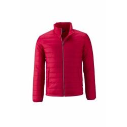 J&N Padded Jacket bélelt dzseki, piros M
