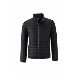 J&N Padded Jacket bélelt dzseki, fekete S