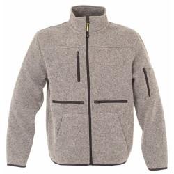 JRC Hannover kötött polár pulóver, szürke L