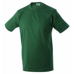 J&N Round-T-Medium kereknyakú póló, zöld L