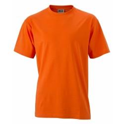 J&N Round-T-Medium kereknyakú póló, narancssárga XL