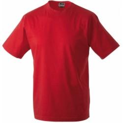 J&N Round-T-Medium kereknyakú póló, piros L