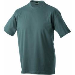 J&N Round-T Heavy kereknyakú póló, szürke 4XL