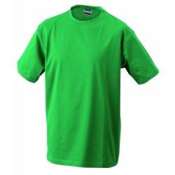 J&N Round-T Heavy kereknyakú póló, zöld XL