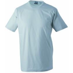 J&N Round-T Heavy kereknyakú póló, szürke M