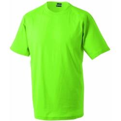 J&N Round-T Heavy kereknyakú póló, zöld S