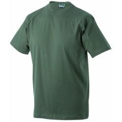 J&N Round-T Heavy kereknyakú póló, sárga 3XL