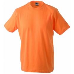 J&N Round-T Heavy kereknyakú póló, narancssárga 3XL