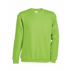 J&N Round Heavy Junior gyermek pulóver, zöld M