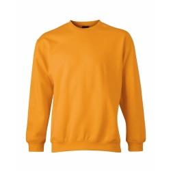 J&N Round Heavy Junior gyermek pulóver, narancssárga M