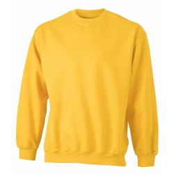 J&N Round Heavy pulóver, arany L