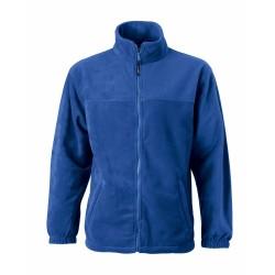 J&N Full-Zip gyermek polár pulóver, kék M