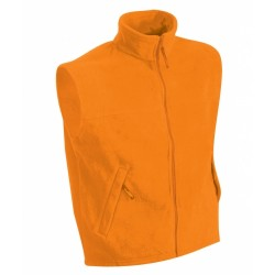 J&N polár mellény, narancssárga 4XL