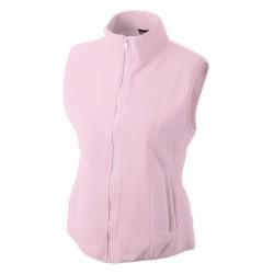 J&N Girly mikropolár mellény, rózsaszín L