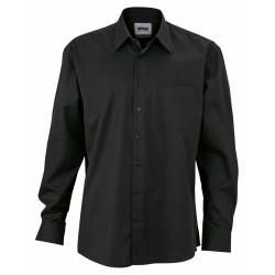 J&N Business hosszú ujjú ing, fekete XXL