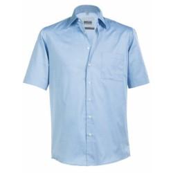 J&N Business rövid ujjú ing, kék 3XL