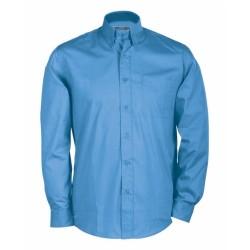 J&N Buttondown hosszú ujjú ing, kék L