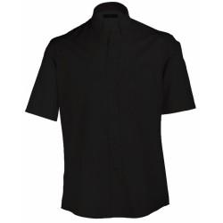 J&N Buttondown rövid ujjú ing, fekete XXL