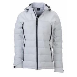 J&N Ladies' Outdoor Hybrid Jacket, fehér L
