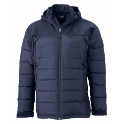 J&N Men's Outdoor Hybrid Jacket, szürke M