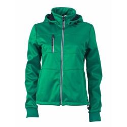 J&N Maritime női softshell dzseki, zöld S