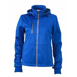 J&N Maritime női softshell dzseki, kék M