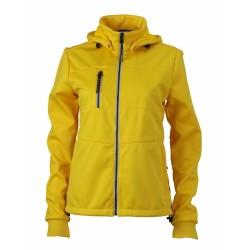 J&N Maritime női softshell dzseki, sárga S