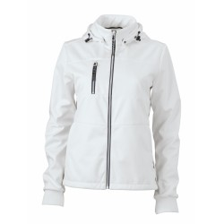 J&N Maritime női softshell dzseki, fehér L