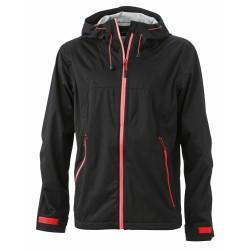 J&N Men's Outdoor Jacket, fekete L