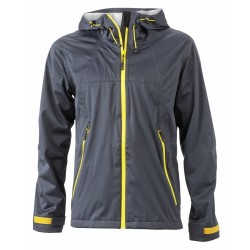 J&N Men's Outdoor Jacket, sárga M
