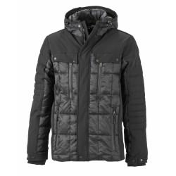 J&N Men's Wintersport Jacket, fekete 3XL