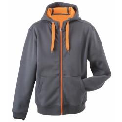 J&N Ladies' Doubleface Jacket, narancssárga M