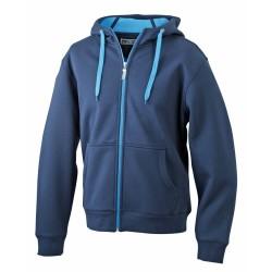 J&N Ladies' Doubleface Jacket, kék M