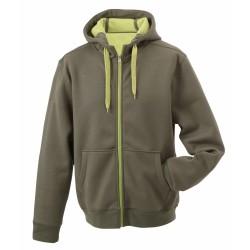 J&N Ladies' Doubleface Jacket, zöld M