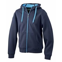 J&N Men's Doubleface Jacket, kék XL