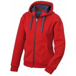 J&N Men's Doubleface Jacket, piros M